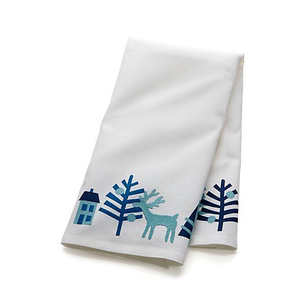 Winter Wonderland Dishtowel