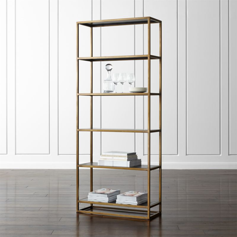 Remi Large Bookcase Reviews Crate And Barrel