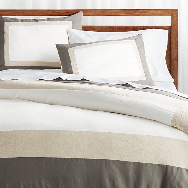 Renatta Cotton Linen Duvet Covers and Pillow Shams - Image 1 of 5