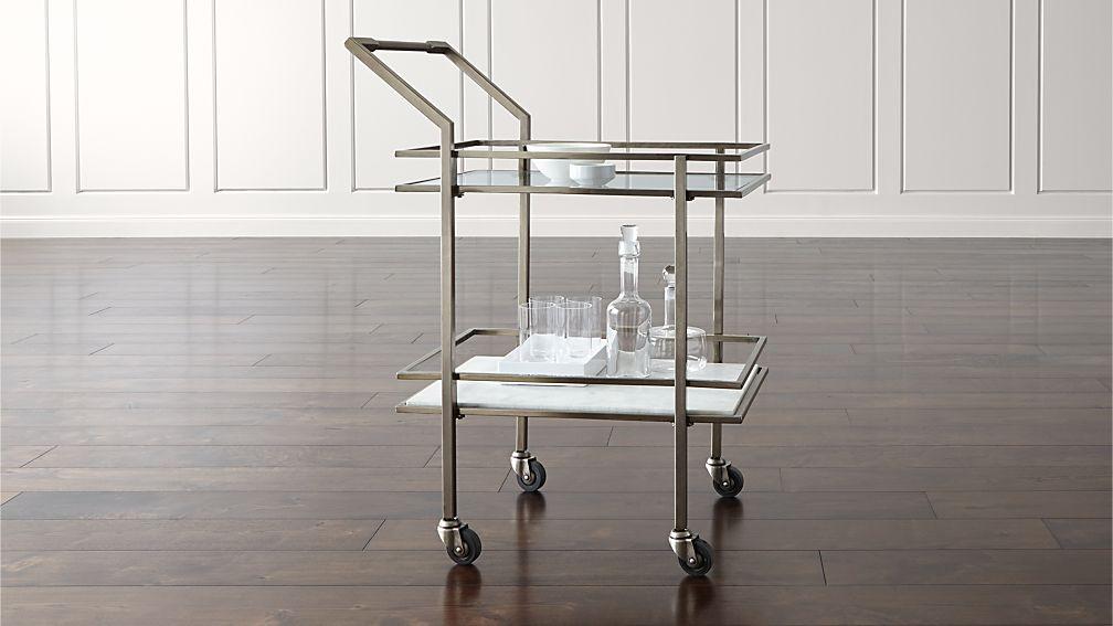 Renee Bar Cart Reviews Crate And Barrel