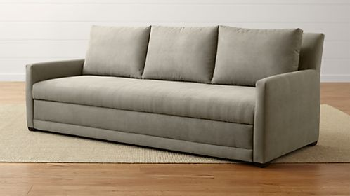 Sale on Sleeper Sofas: Twin, Full, Queen Sofa Beds | Crate and Barrel