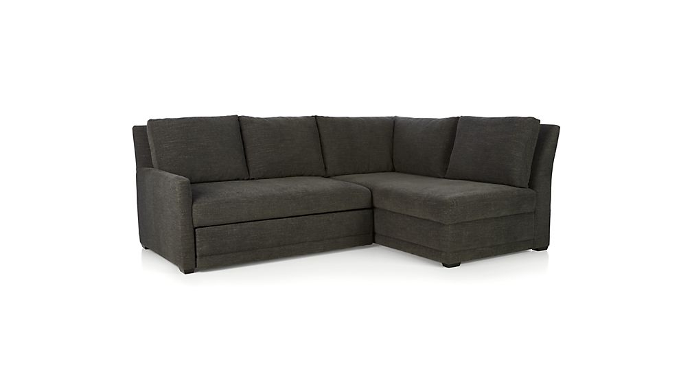 Reston Sectional Sofa Bed Crate And Barrel