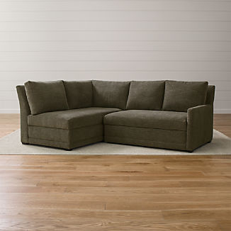 Sectional Sleepers   Crate and Barrel