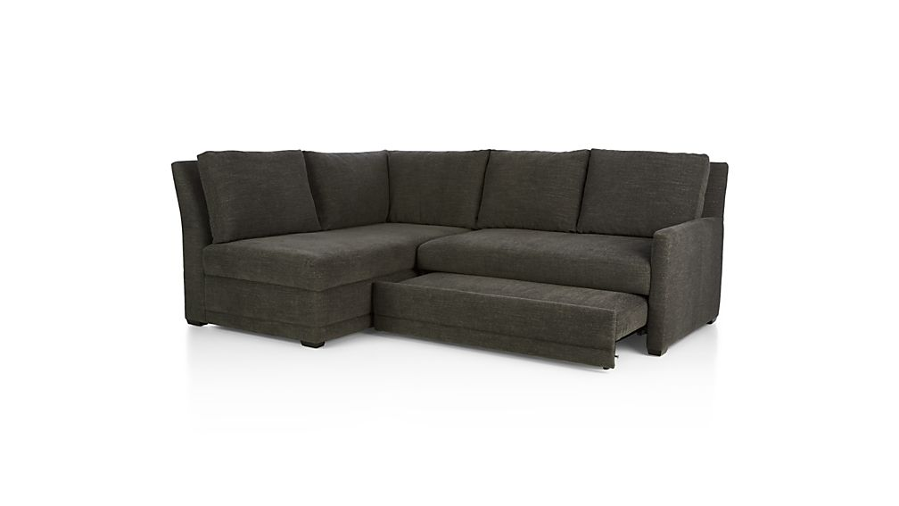 Reston 2-Piece Right Arm Loveseat Sleeper Sectional Sofa
