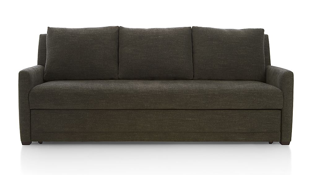 Reston Full Sleeper Sofa ...  sc 1 st  Crate and Barrel : crate and barrel sectional sofas - Sectionals, Sofas & Couches