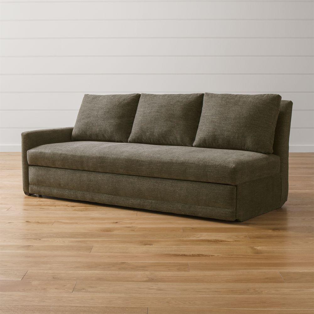 Reston Left Arm Queen Sleeper Sofa - Crate and Barrel