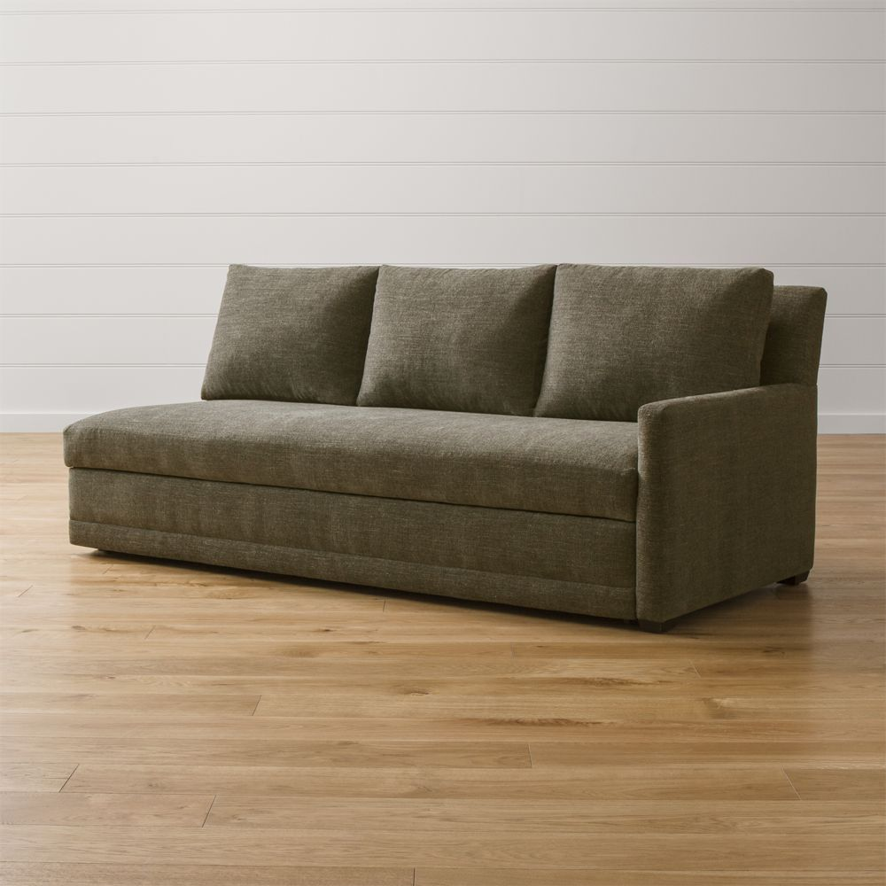 Reston Right Arm Queen Sleeper Sofa - Crate and Barrel