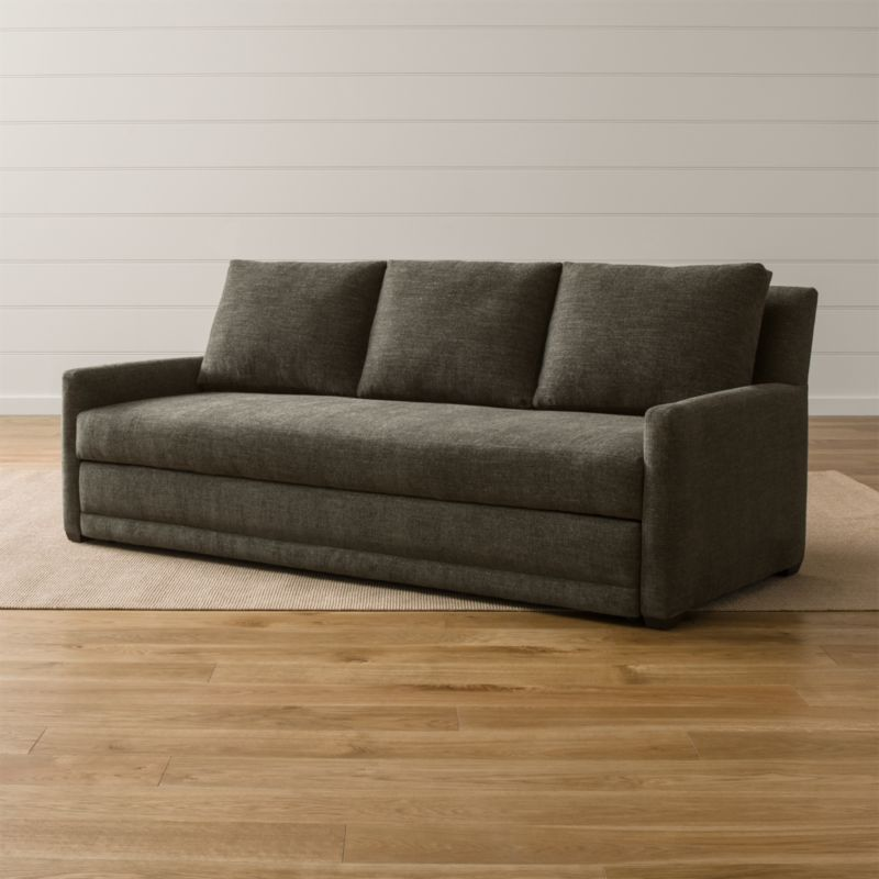 Sofa With Trundle Bed Crate And Barrel
