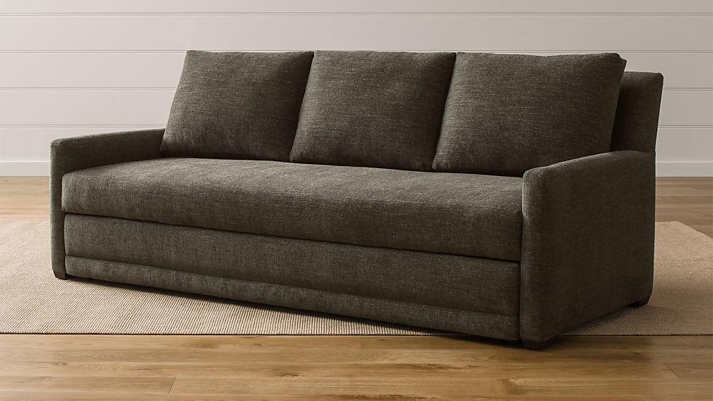 Reston Queen Trundle Sleeper Sofa - Image 1 of 13
