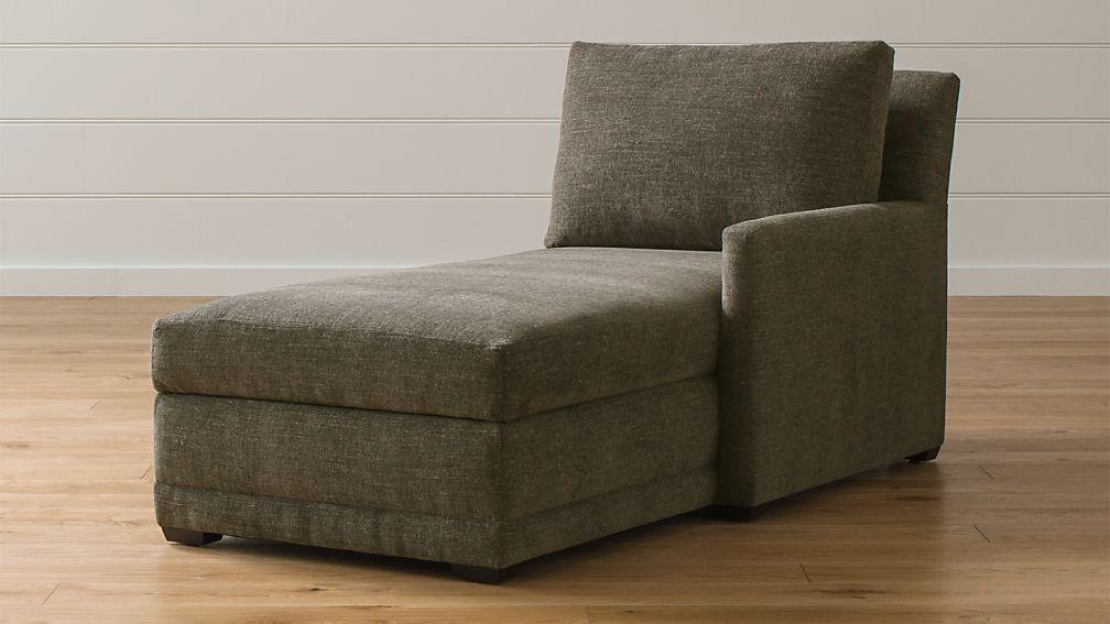 Reston Right Arm Storage Chaise