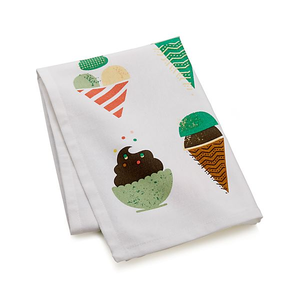 RetroIceCreamDishTowelS17