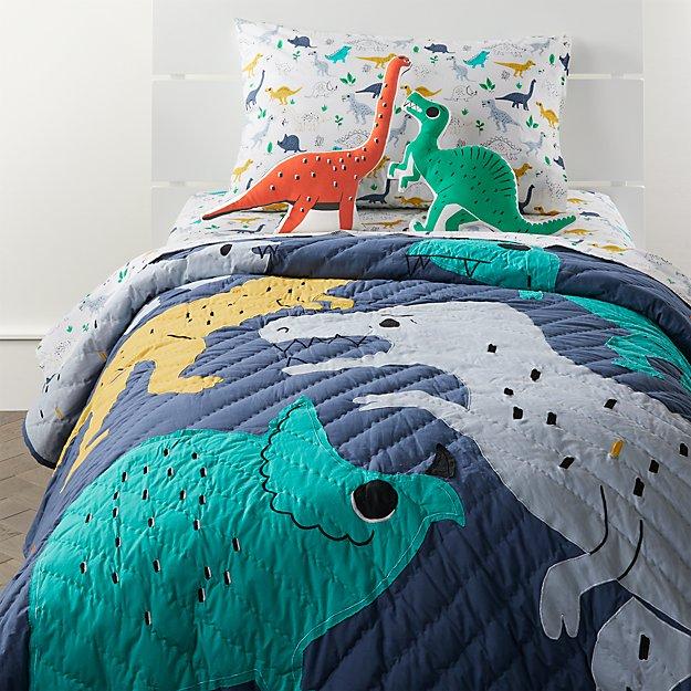 Mainstays Flannel Sheet Set Dinosaur Print