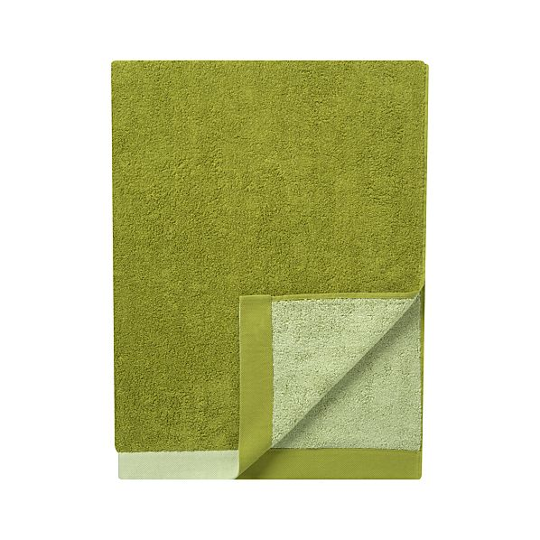 Reversible Green Bath Sheet