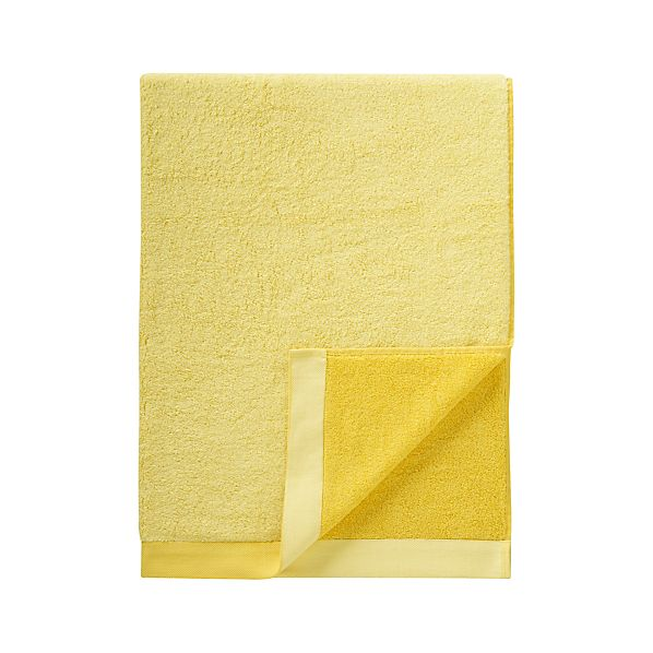 Reversible Yellow Bath Sheet