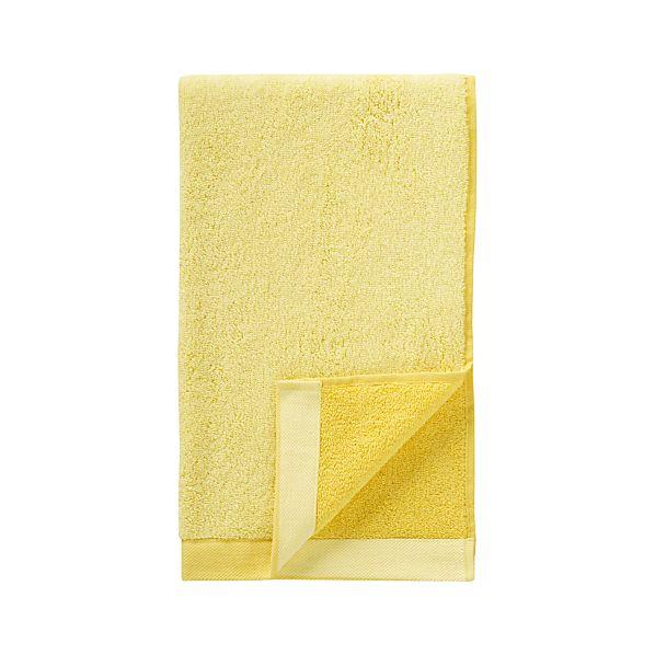 Reversible Yellow Hand Towel