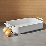 Revol Belle Cuisine Rectangular White 11.75 x8.5  Baking Dish