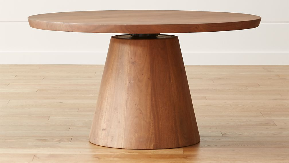 "Revolve 48"" Round Adjustable Height Dining Table - Image 1 of 7"