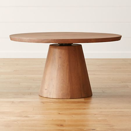Adjustable Height Round Table.Revolve 48 Round Adjustable Height Dining Table