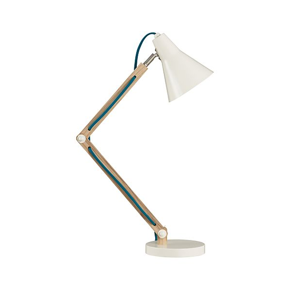 Rex Ivory Desk Lamp