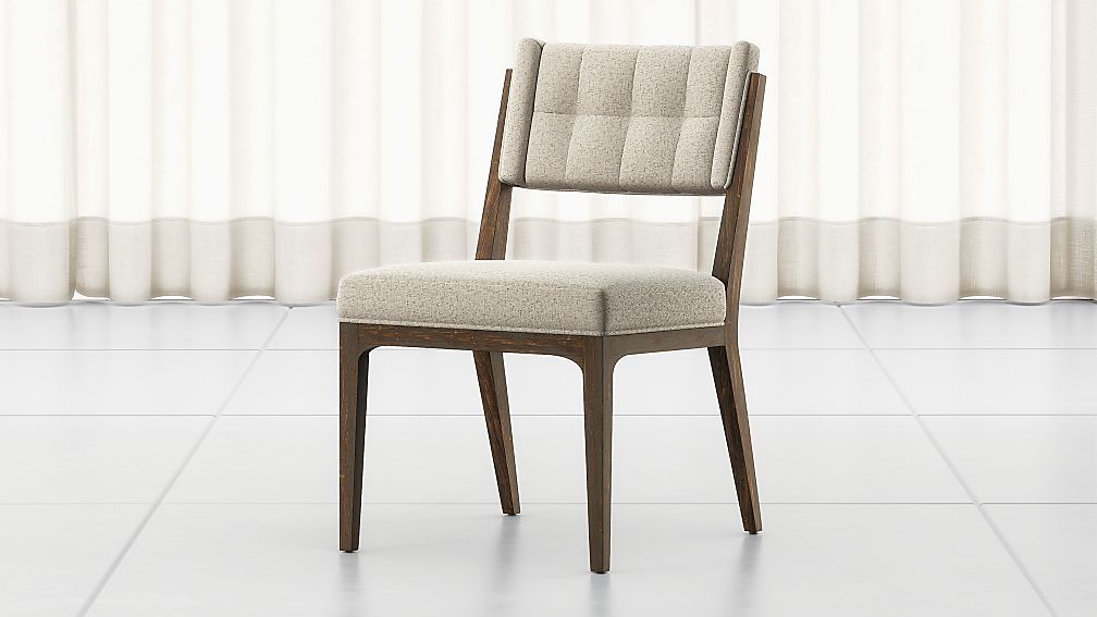 Rey Fulci Stone Tufted Dining Chair - Image 1 of 10