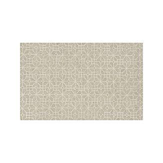 Rhea Dove Wool-Blend 5'x8' Rug