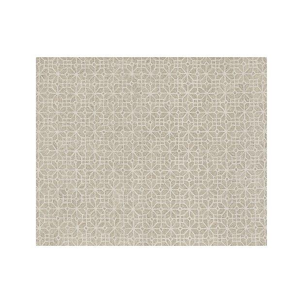 Rhea Dove Wool-Blend 8'x10' Rug
