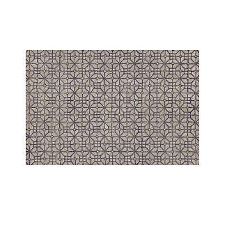 Rhea Graphite Grey Wool-Blend 6'x9' Rug