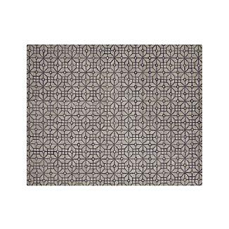 Rhea Graphite Grey Wool-Blend 8'x10' Rug