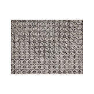 Rhea Graphite Grey Wool-Blend 9'x12' Rug