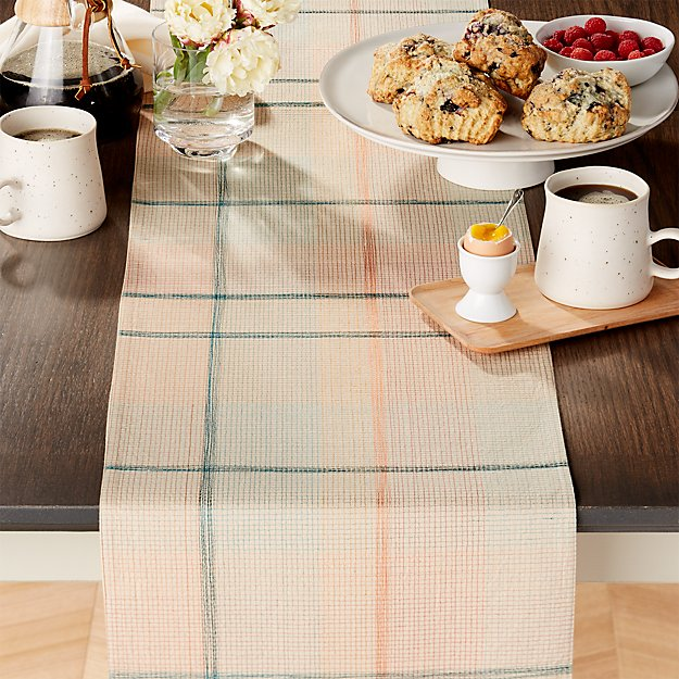 Rhoda Embroidered Table Runner