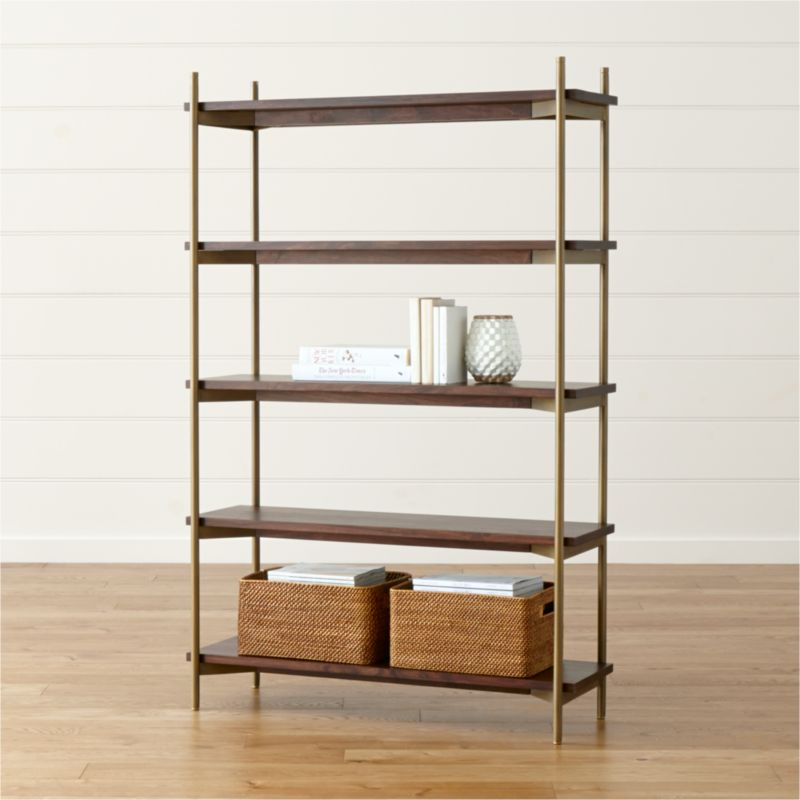 100 images metal and wood bookshelves