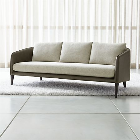 Enjoyable Rhys Leather Bench Seat Sofa Gmtry Best Dining Table And Chair Ideas Images Gmtryco