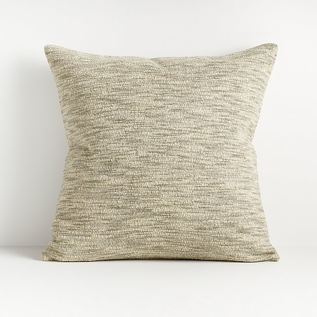 "Ria Neutral Pillow 18"" - Image 1 of 4"