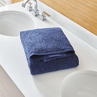 Ribbed Midnight Bath Towel
