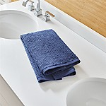 Ribbed Midnight Hand Towel