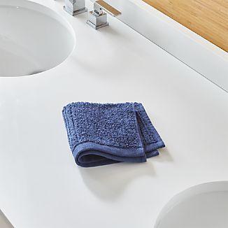 Ribbed Midnight Washcloth