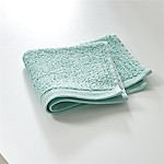Ribbed Seafoam Washcloth