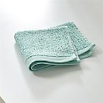 Ribbed Seafoam Washcloth