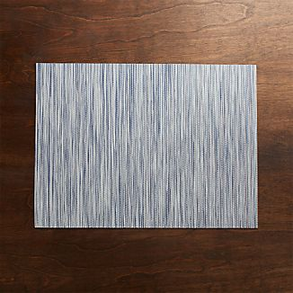 Chilewich ® Ridge Blue Placemat