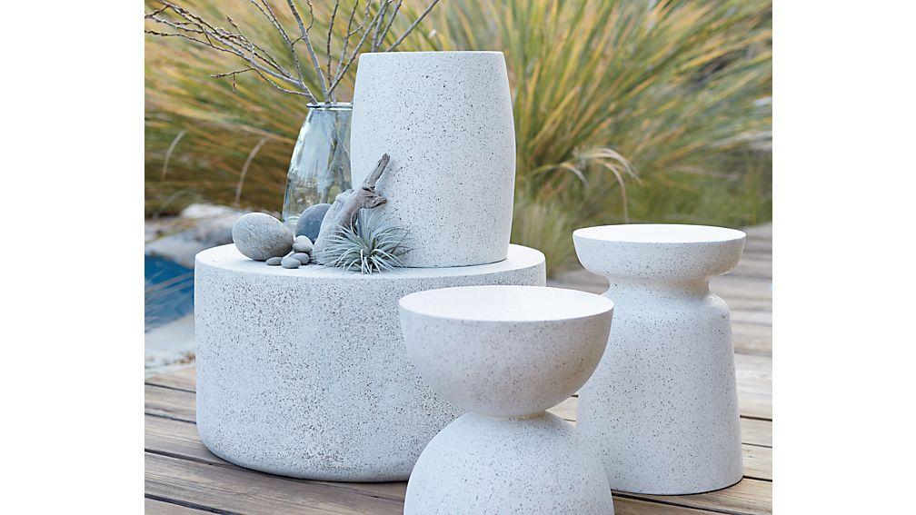 Mesa Side Table-Stool