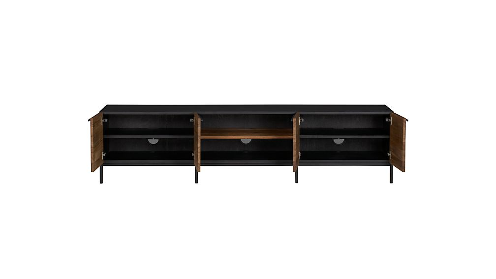 "Rigby 80.5"" Large Media Console Base"