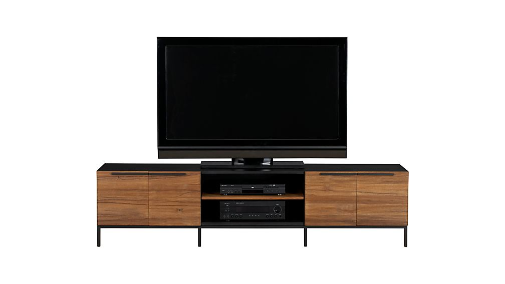 "Rigby 80.5"" Large Media Console with Base"