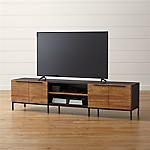 Rigby Natural 80.5  Large Media Console with Base