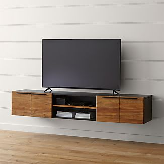 "Rigby 80.5"" Large Floating Media Console"
