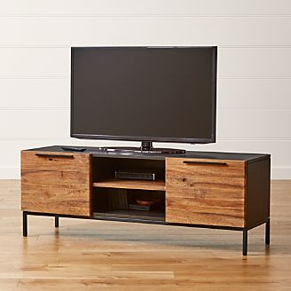 Tv Stands Media Consoles Amp Cabinets Crate And Barrel