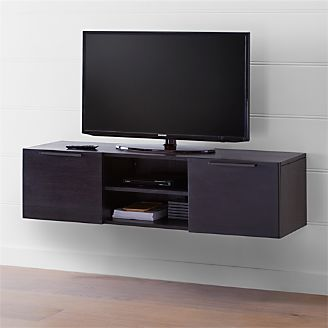 Rigby 55 Small Floating Wenge Media Console