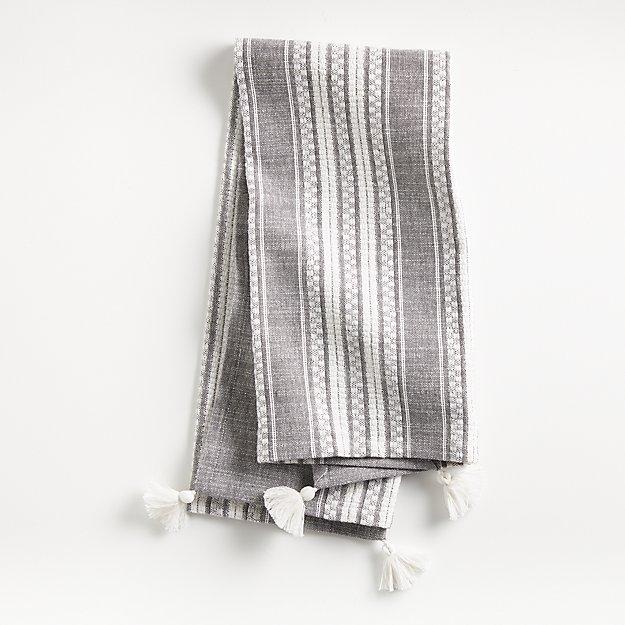 Riku Grey Dish Towel - Image 1 of 4