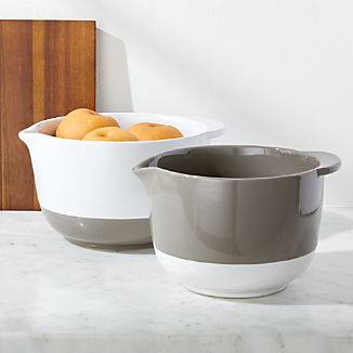 Riley Mixing Bowls with Handles, Set of 2