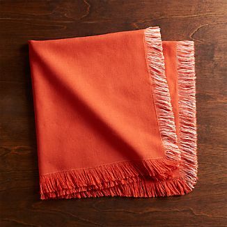 Rio Orange Dinner Napkin