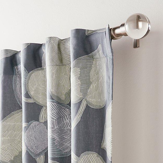Riona Leaf Print Curtain Panel - Image 1 of 7
